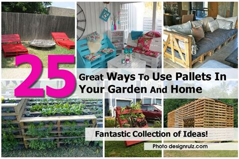 25 Great Ways To Use Pallets In Your Garden And Home
