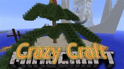 minecraft mods crazy craft  experience tree farm kind   youtube