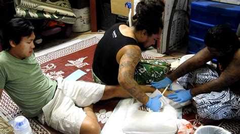 hand tapping tattoo soul signature hawaii youtube
