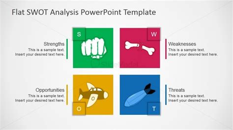 swot template powerpoint free swot ppt template slidemodel