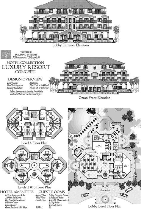 commercial design concept luxury ocean front