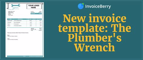 invoice template  plumbers wrench invoiceberry blog