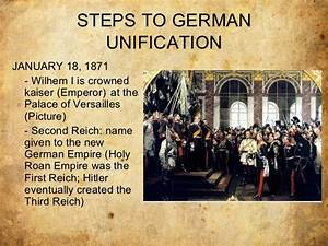 Italian And German Unification