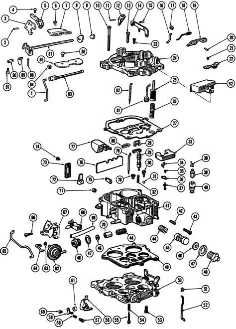 Parts Quadrajet
