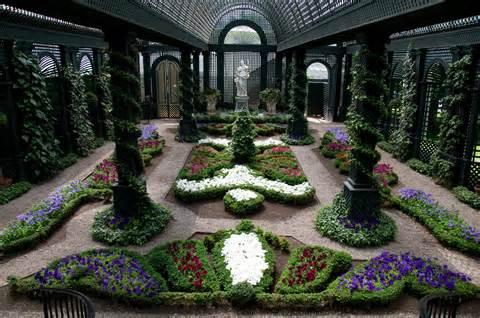 indoor flower garden file the french garden at duke gardens jpg
