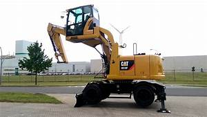 Caterpillar M318f With Cabinlift