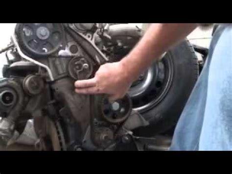 timing belt replacement passat audi   turbo youtube
