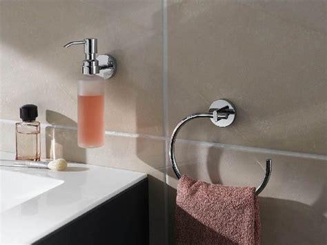 No Drill Bath Towel Ring-contemporary-towel Rings