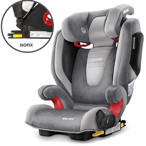 recaro monza 2 seatfix isofix child children 39 s car