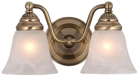 vaxcel vl35122a standford antique brass 2 light bathroom