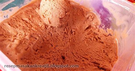 resep es krim rumahan sederhana selembut walls coklat