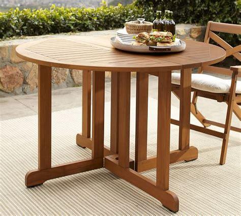 hampstead teak drop leaf dining table honey