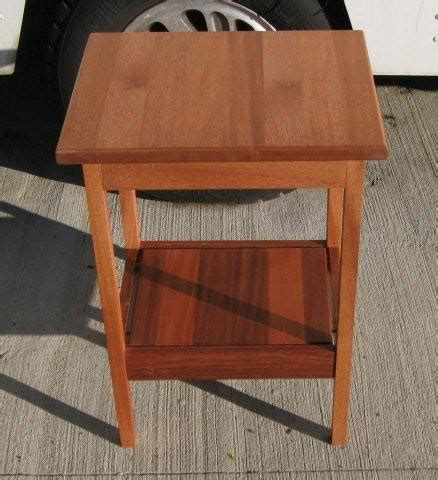 side table woodworking blog  plans
