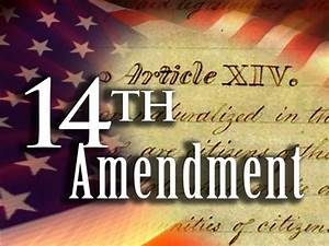 President Violates14th Amendment Equal Protection Clause ...