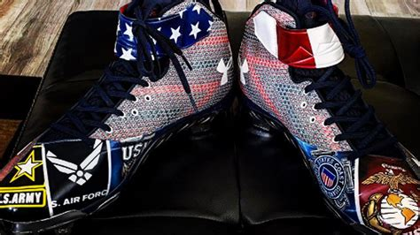 bryce harpers fourth  july cleats  awesomely