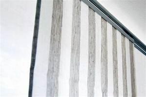 Leinen Gardinen Weiß : leinen fl chengardine wei grau gestreift versch gr en m05c332 leinenbettw sche linumo ~ Whattoseeinmadrid.com Haus und Dekorationen
