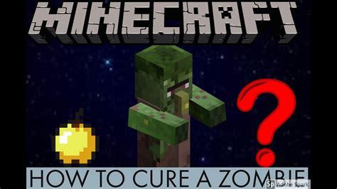 villager zombie cure