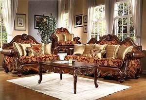 Victorian, Living, Room, Furniture