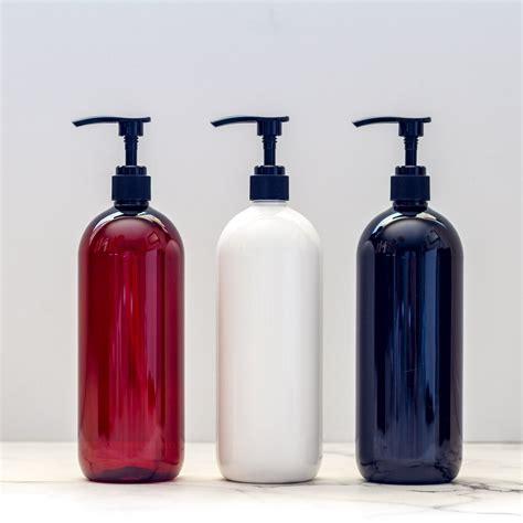 plastic bottle  pump  shampoo  lotion  ml