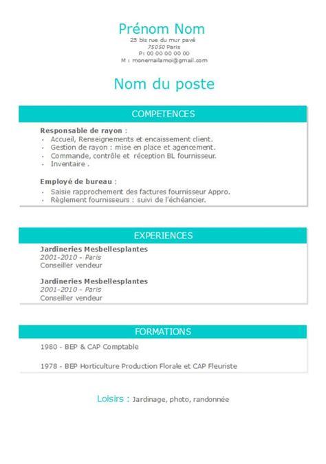 modèle cv gratuit open office modele de cv open office modele de cv curriculum vitae