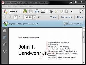 digital signatures with piv and piv i credentials With digital signatures for pdf documents