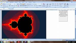 How To Draw Chart In Excel Mandelbrot Set In Excel