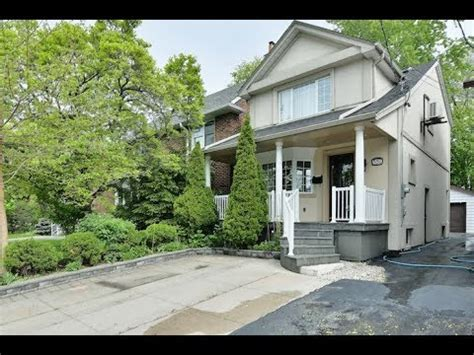 551 Donlands Ave Toronto Open House Video Tour  Youtube