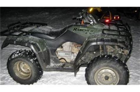 2001 honda rancher 350 es for sale used atv classifieds