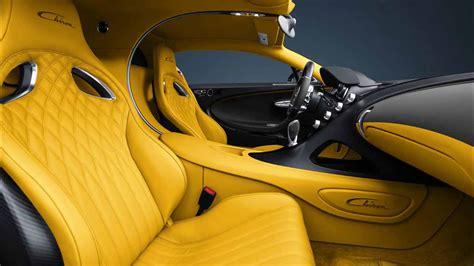 Bugatti claims that the chiron makes the dash from zero to 60 mph in a. Yellow Bugatti Chiron Interior