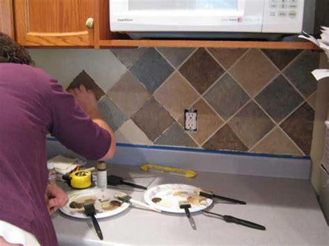 do it yourself backsplash kitchen 16 inexpensive easy diy backsplash ideas to beautify