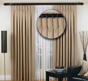 Curtain heading types best quality price eiffel for Types of pleat curtains
