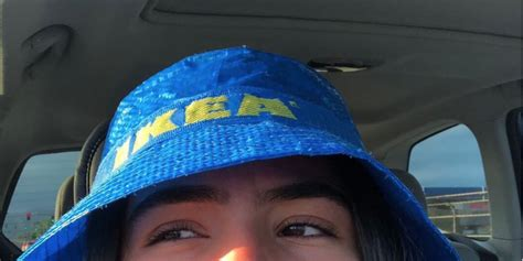 ikea shopping bag bucket hats   sold  stores