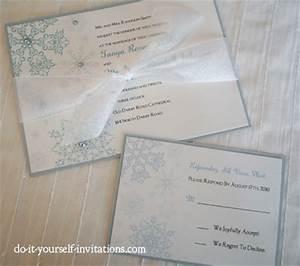 printable snowflake wedding invitations template print With wedding invitation printing places