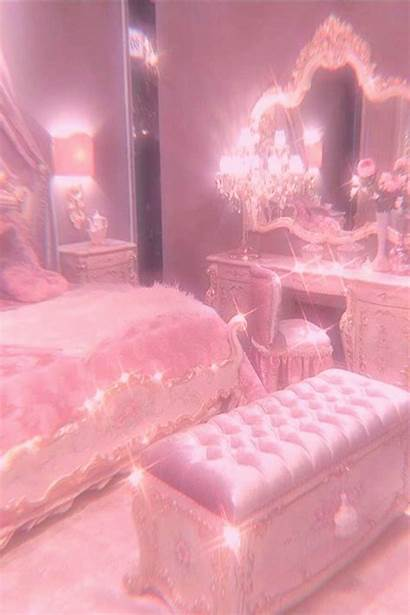 Bedroom Aesthetic Princess Pastel Wallpapers Indoor Awesome