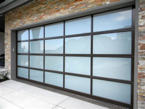 barn wood wall frosted glass garage doors all about glass garage doors