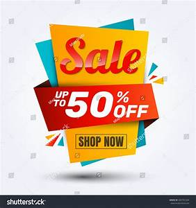 Super Sale Discount Banner Designlayout Online Stock Vector 683791264