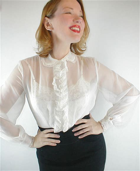 sheer white blouse womens white sheer blouse silk blouses
