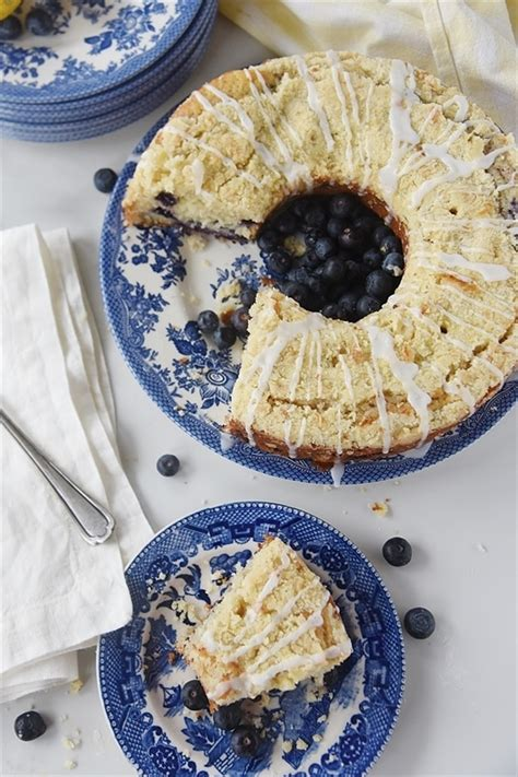 Salt 1/2 cup butter, room cool on a wire rack. Lemon Blueberry Coffee Cake   Recipe from Your Homebased Mom