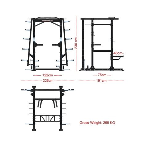 power rack commercial dimensions cage barbarian functional racks pro cages