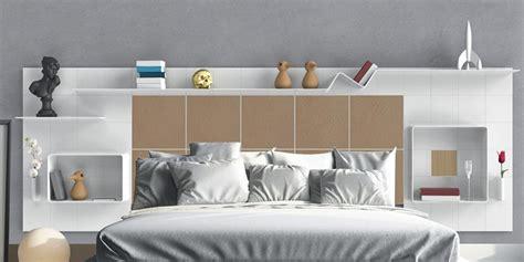 amenagement placard chambre tête de lit avec rangements