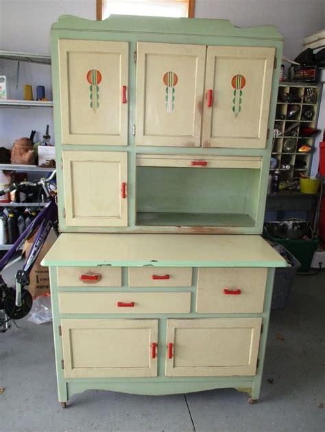 hoosier cabinet ideas  pinterest oak