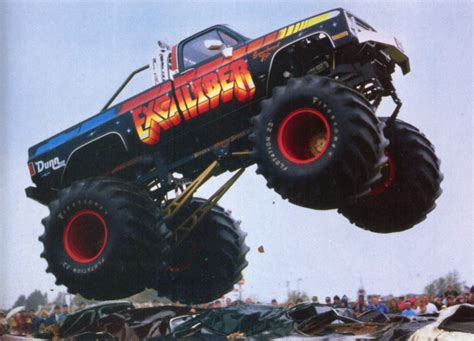 monster truck videos vintage excalibur monster truck videos