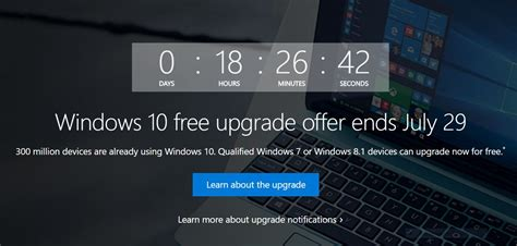 this is your last chance to upgrade to windows 10 for free