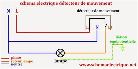Schema Cablage Detecteur De Mouvement Avec Interrupteur