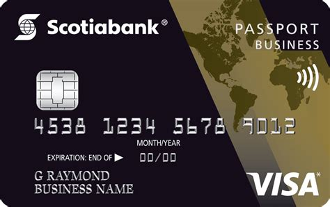 Scotiagold Passport® For Business Visa* Card Visiting Cards Black Best Minimalist Business Modern Background Backgrounds For Makeup Artists Moo On Paper With Wood