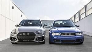 Audi Rs 4 : past meets present 2001 audi rs4 avant joined by 2018 model ~ Melissatoandfro.com Idées de Décoration