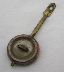 Antique Mantel Clock Pendulum Parts Repair