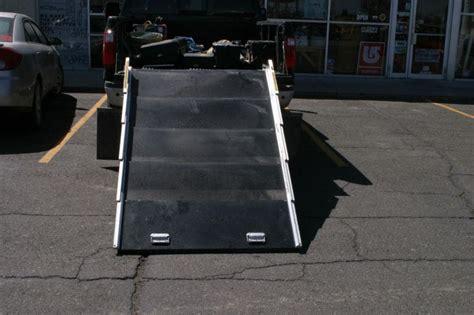 find telescoping pickup ramp  lb capacity aluminum