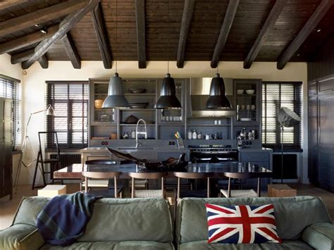 industrial interiors home decor house that combines industrial and traditional style