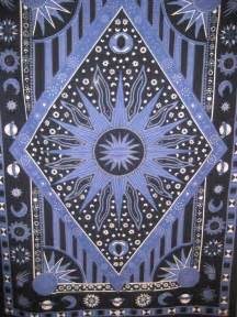 Sun Moon and Stars Tapestry